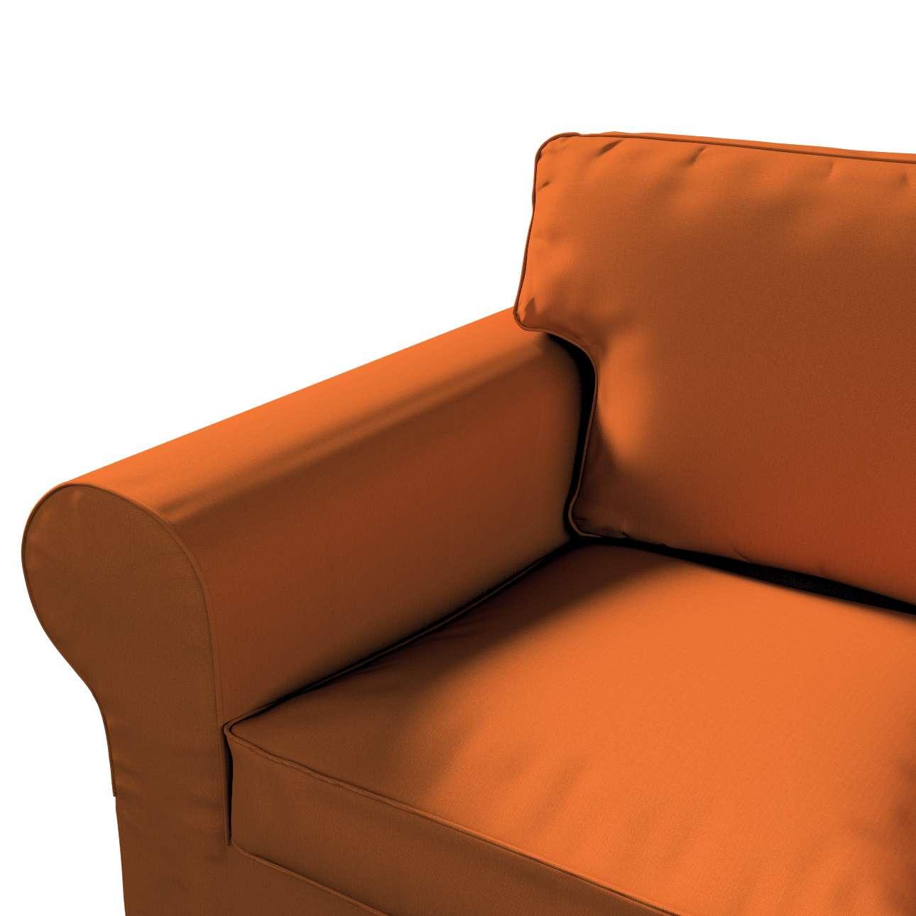 Pokrowiec na sofę Ektorp 2-osobową rozkładaną, model po 2012 w kolekcji Cotton Panama, tkanina: 702-42