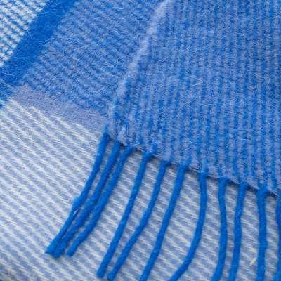 Deka Zelandia 140x200 cm modrá károvaná
