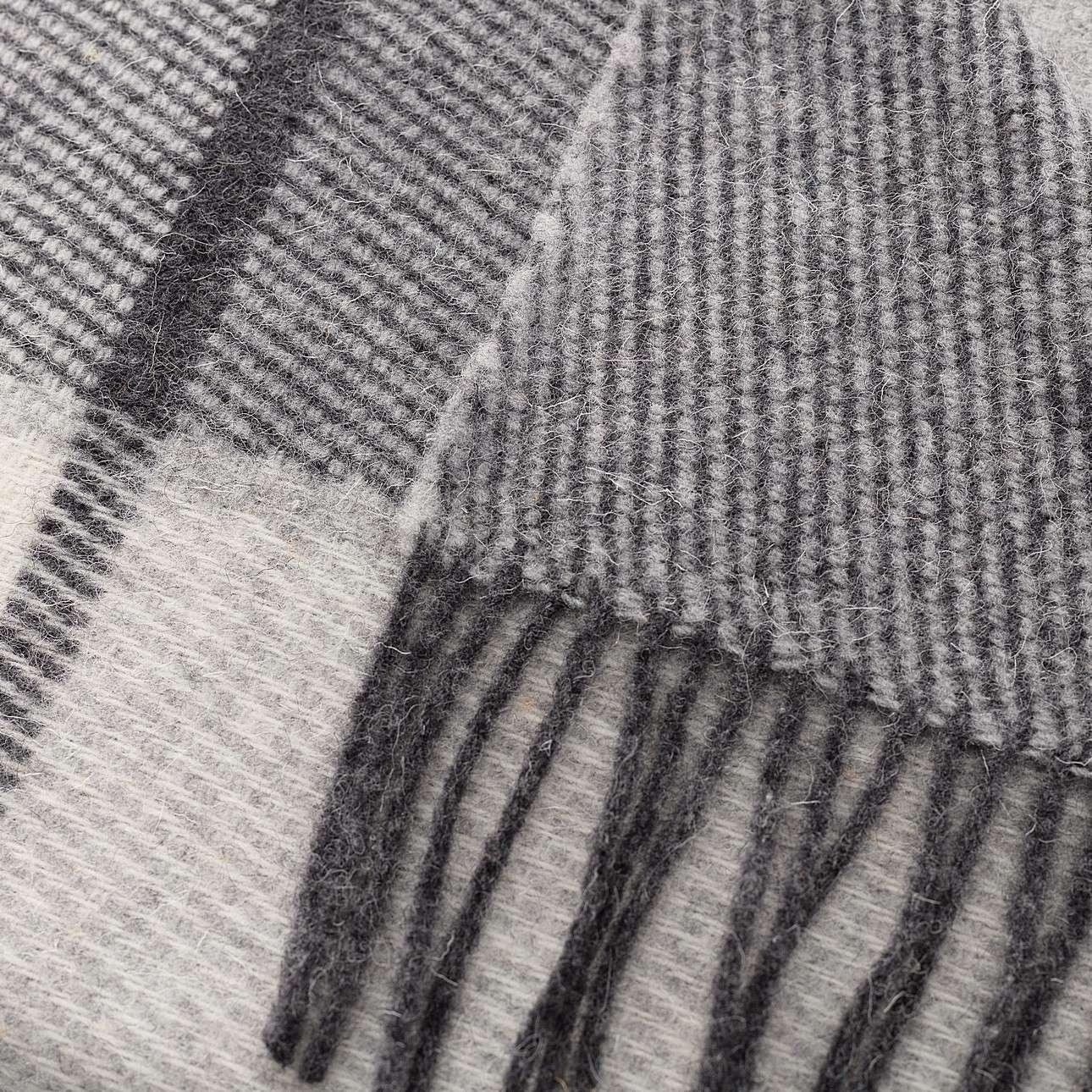 Deka Zelandia 140x200 cm sivá károvaná