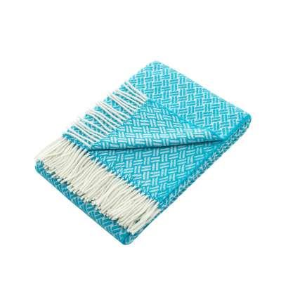 Deka Zelandia 140x200 cm tyrkysová modrá