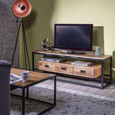 TV-Board Sivert 150x40x51cm Mediamöbel - Dekoria.de