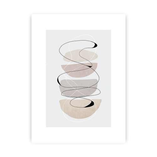 Plakat Abstract Lines II