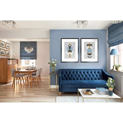 Geometric Shapes I Print Home Furnishing & Decorations - Dekoria.co.uk