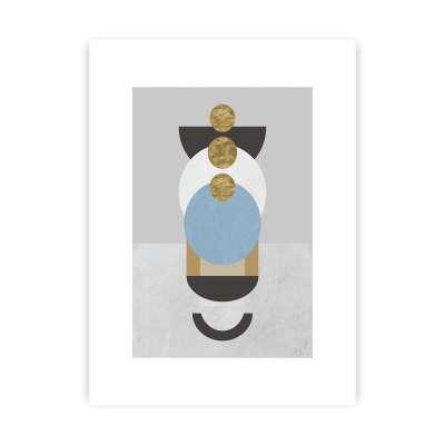 Geometric Shapes II Print Home Furnishing & Decorations - Dekoria.co.uk