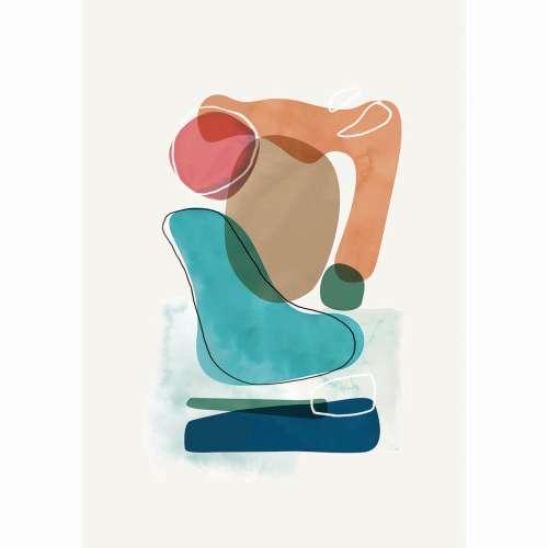 Leinwandbild Abstract Art I
