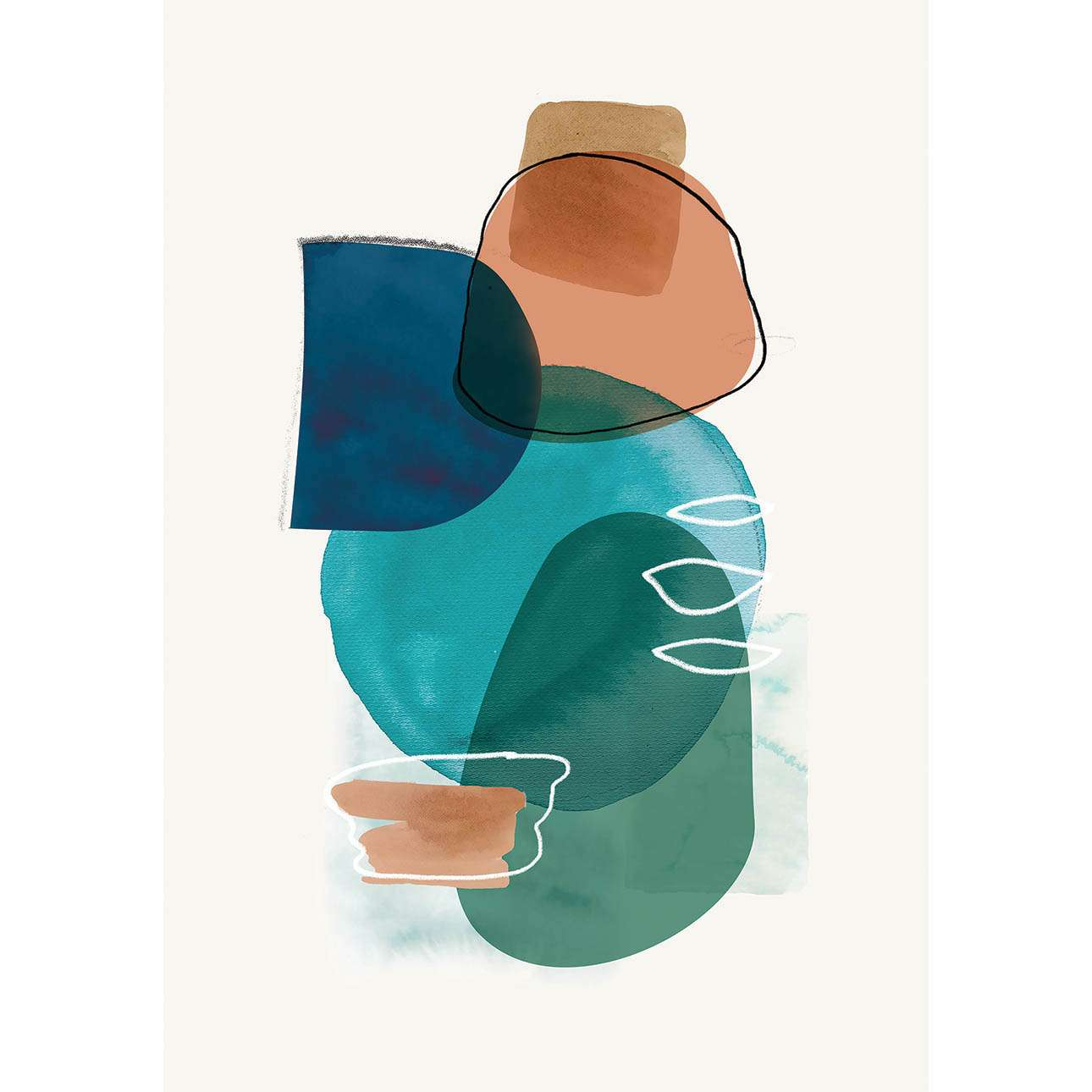 Obraz na plátně Abstract Art II