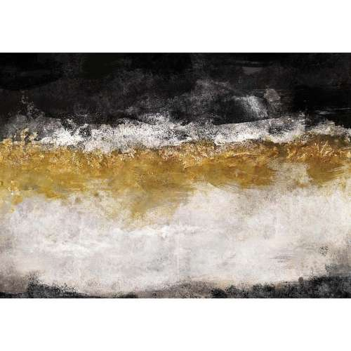 Leinwandbild Black&Gold Impression