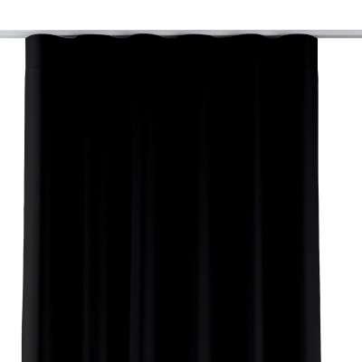 Zasłona na taśmie wave 269-99 czarny Kolekcja Blackout - zaciemniające