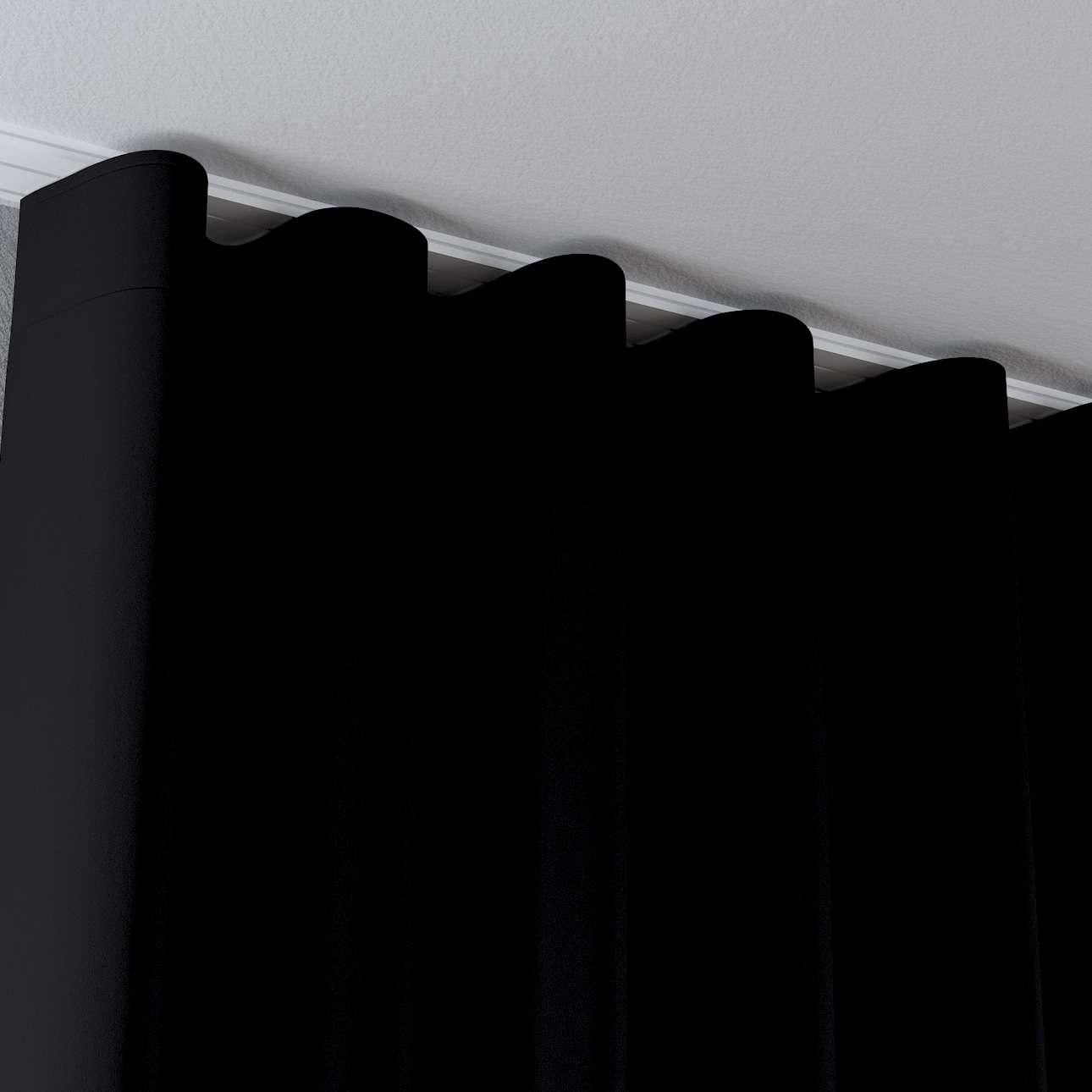 Gardin med waveband i kollektionen Blackout (mörkläggande), Tyg: 269-99