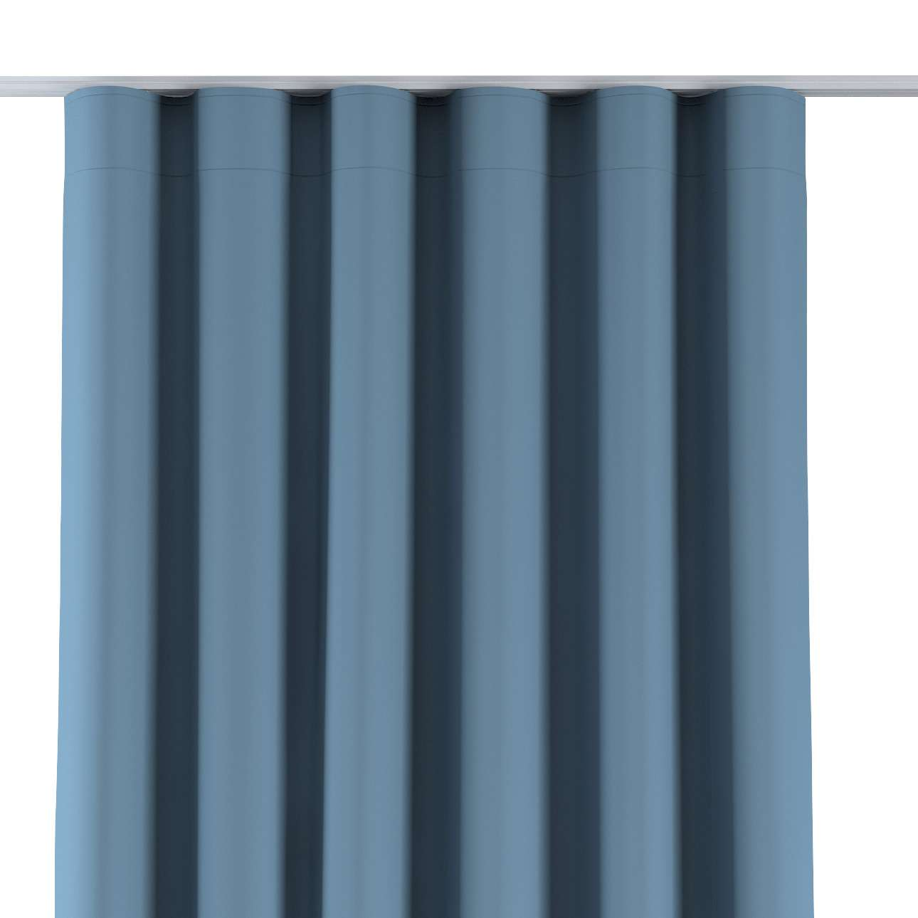 Zaves s riasením WAVE V kolekcii Blackout - zatemňujúca, tkanina: 269-08