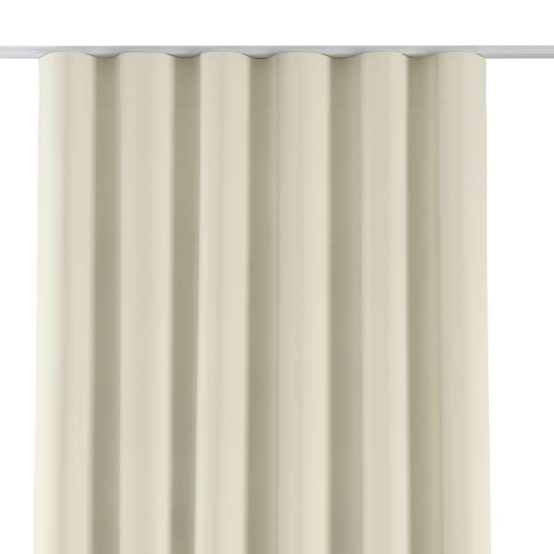 Zasłona na taśmie wave w kolekcji Velvet, tkanina: 704-10