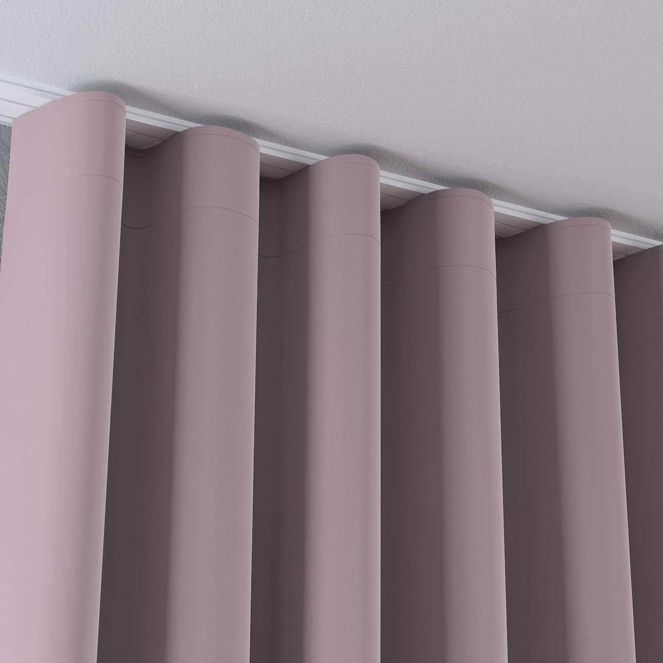Zasłona na taśmie wave w kolekcji Velvet, tkanina: 704-14