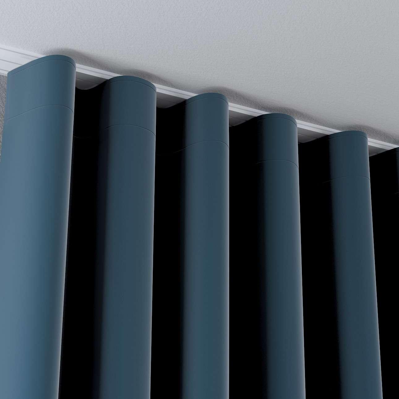 Zasłona na taśmie wave w kolekcji Velvet, tkanina: 704-16
