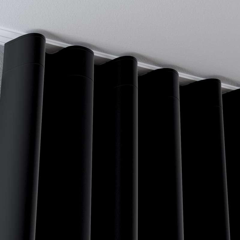 Zasłona na taśmie wave w kolekcji Velvet, tkanina: 704-17