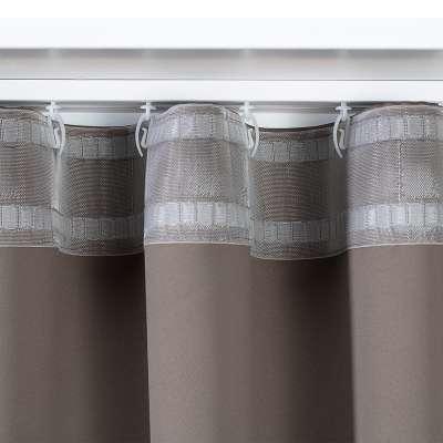 Zasłona na taśmie wave w kolekcji Velvet, tkanina: 704-19