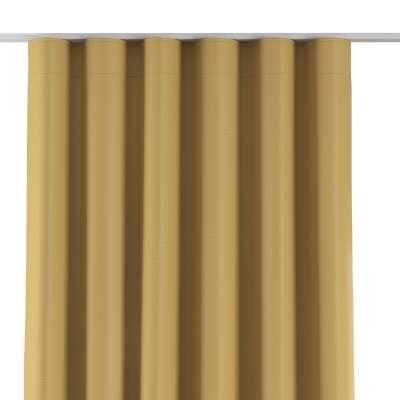 Závěs na řasící pásce wave 269-68 hořčicově zlatavá s výraznou strukturou Kolekce Blackout