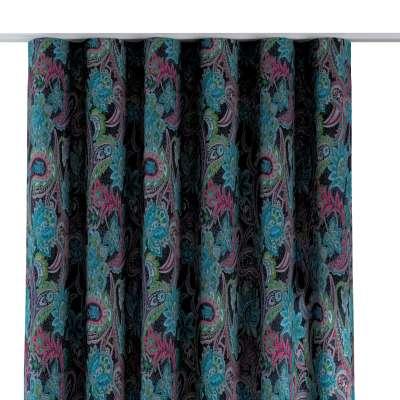 Závěs na řasící pásce wave 704-22 multikolor - východní ornamenty Kolekce Velvet