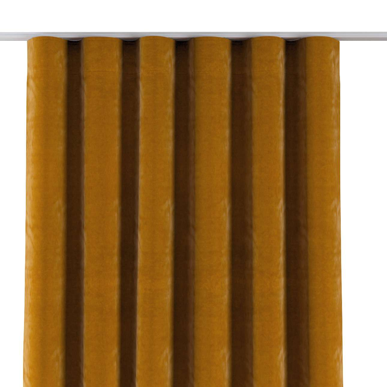 Zasłona na taśmie wave w kolekcji Velvet, tkanina: 704-23