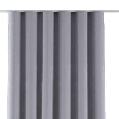 Závěs na řasící pásce wave 704-24 stříbro-šedá Kolekce Velvet
