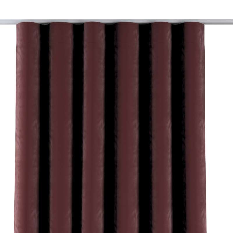 Zaves s riasením WAVE V kolekcii Velvet, tkanina: 704-26