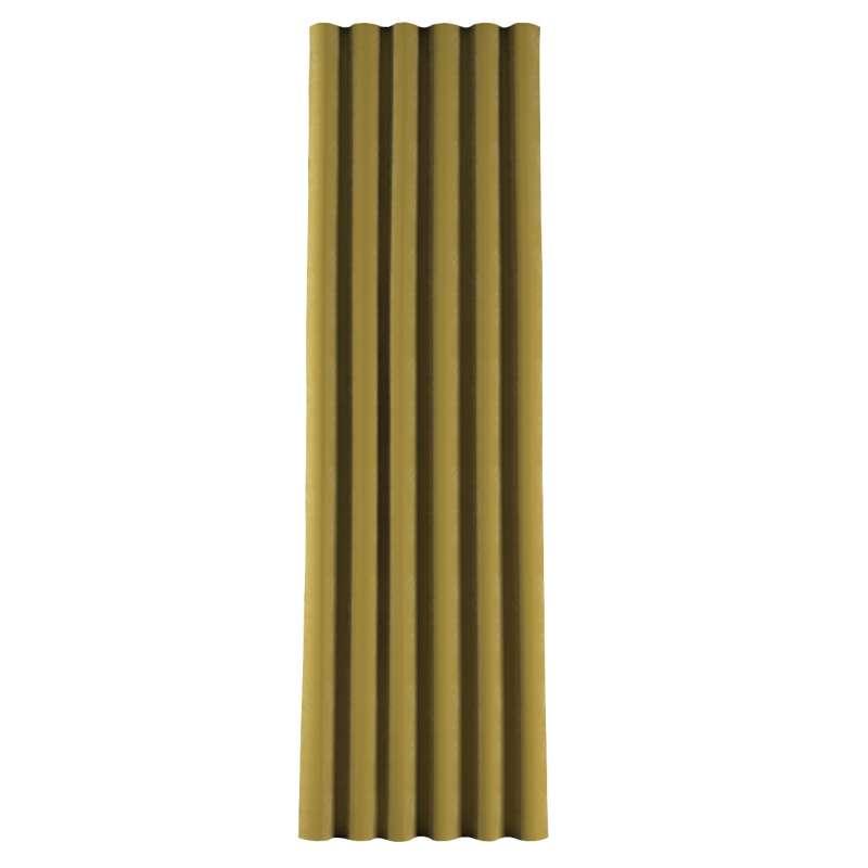 Zasłona na taśmie wave w kolekcji Velvet, tkanina: 704-27