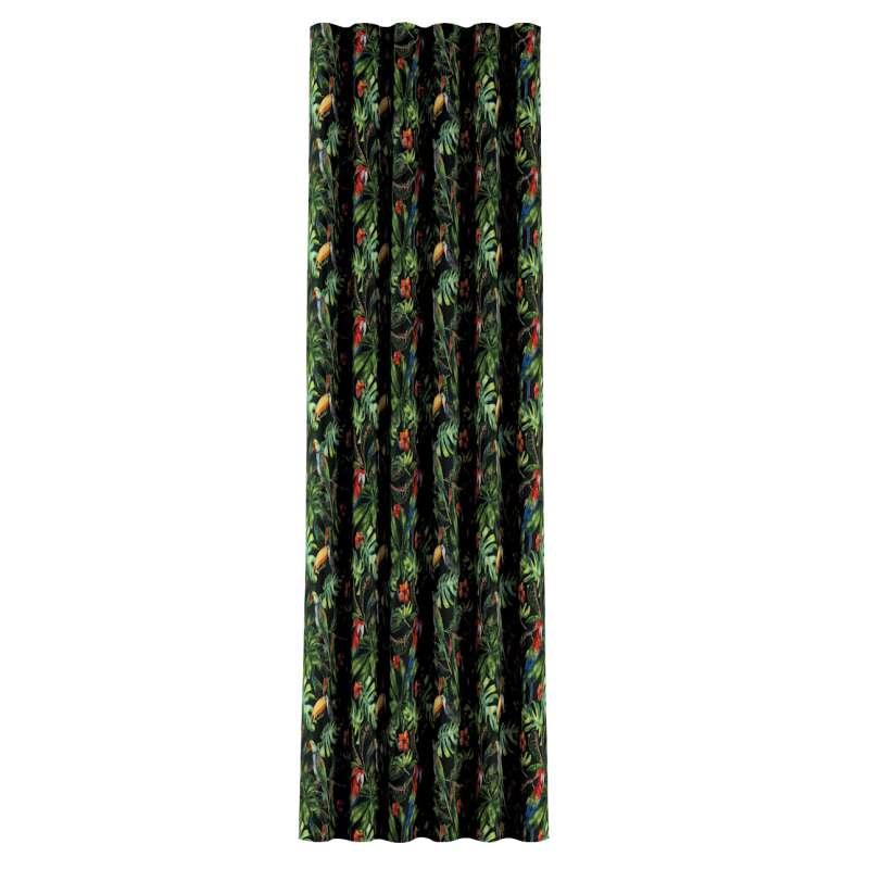 Zasłona na taśmie wave w kolekcji Velvet, tkanina: 704-28