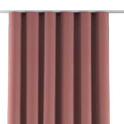Závěs na řasící pásce wave 704-30 korálová růžová Kolekce Velvet