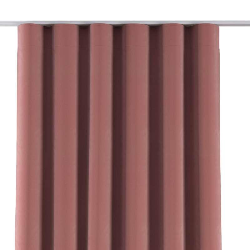 Zasłona na taśmie wave w kolekcji Velvet, tkanina: 704-30