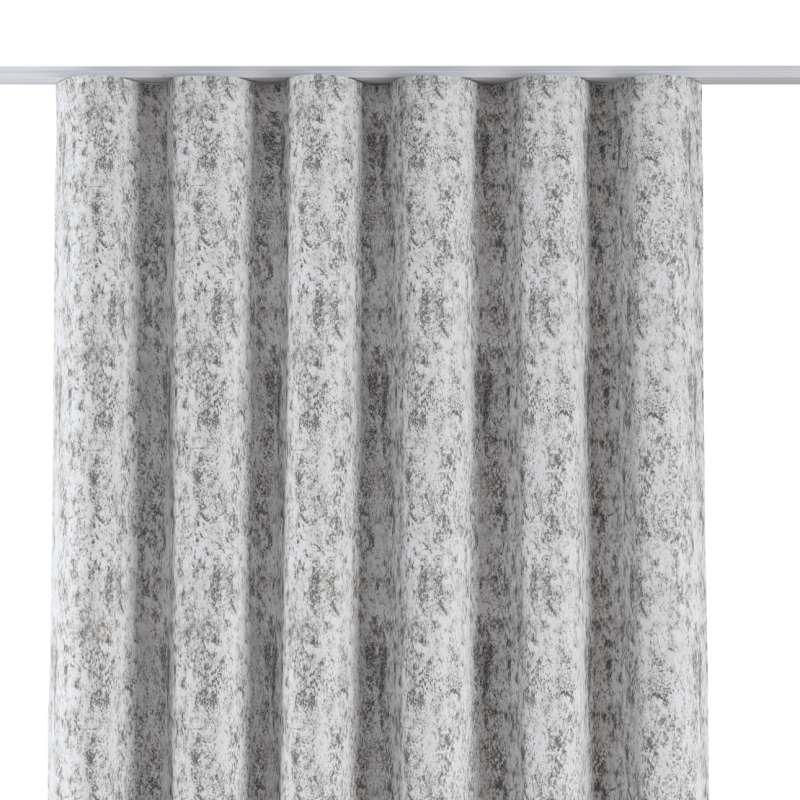 Zaves s riasením WAVE V kolekcii Velvet, tkanina: 704-49
