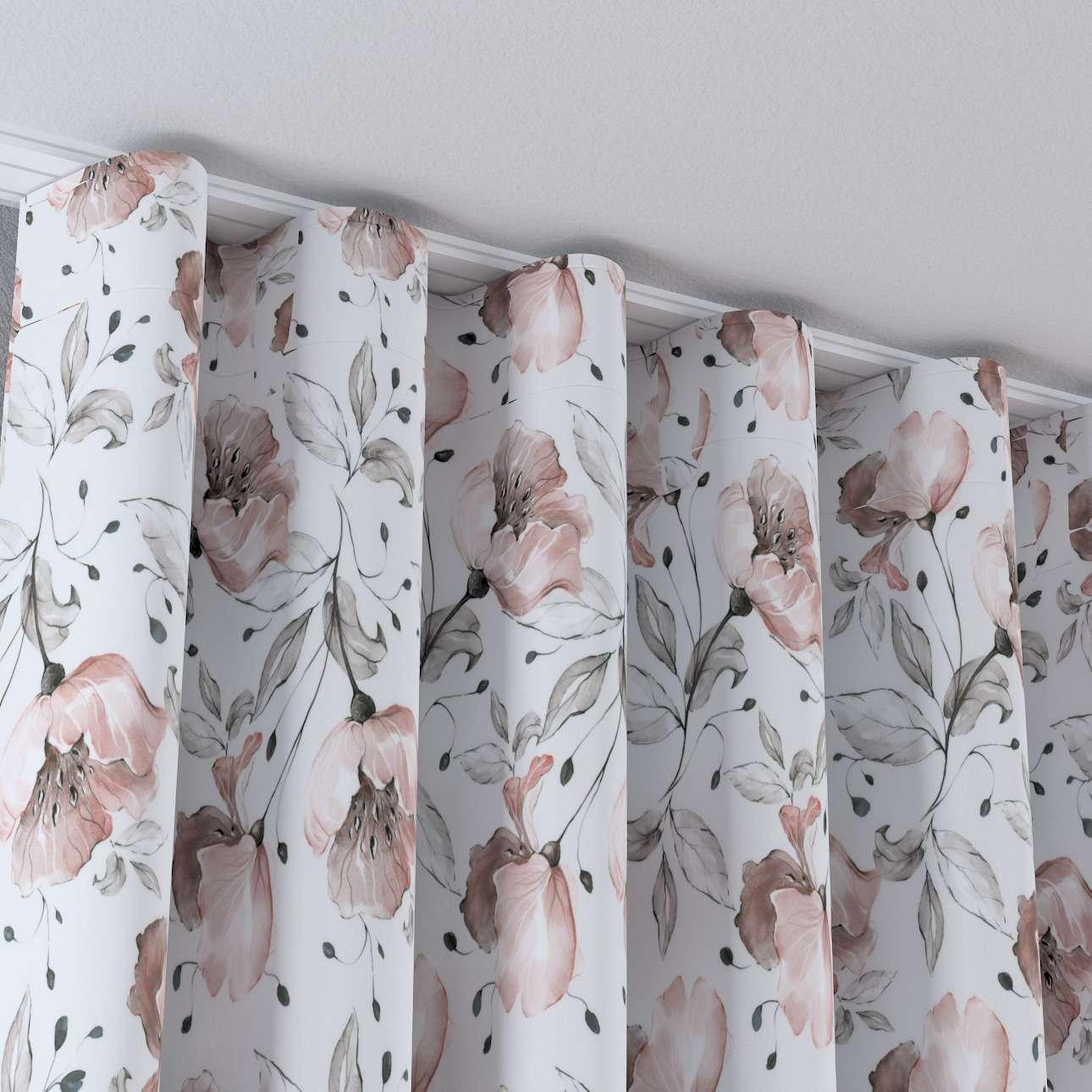 Zasłona na taśmie wave w kolekcji Velvet, tkanina: 704-50