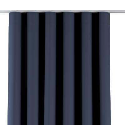 Wellenvorhang 269-16 dunkelblau Kollektion Blackout (verdunkelnd)