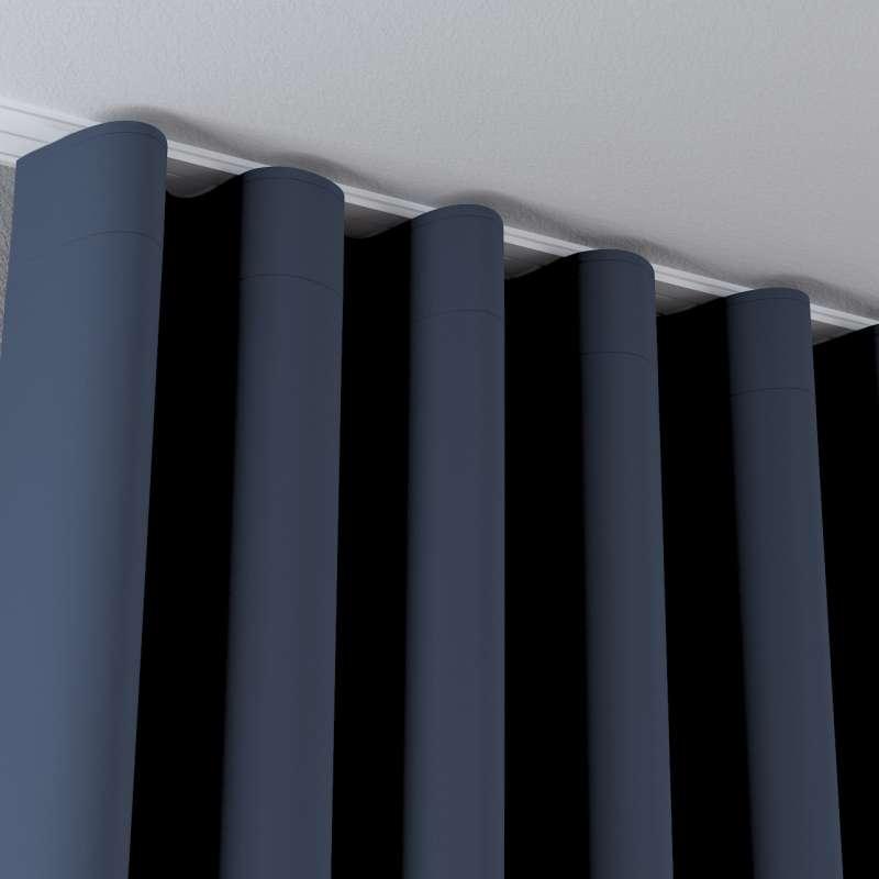 Zasłona na taśmie wave w kolekcji Blackout - zaciemniające, tkanina: 269-16