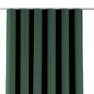 Wave Curtain 269-18 bottle green Collection Blackout