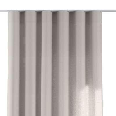 Závěs na řasící pásce wave 159-07 šedavá Kolekce Linen