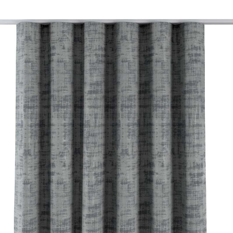 Zasłona na taśmie wave w kolekcji Velvet, tkanina: 704-32