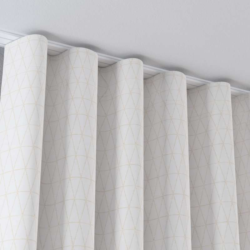 Zaves s riasením WAVE V kolekcii Sunny, tkanina: 143-94