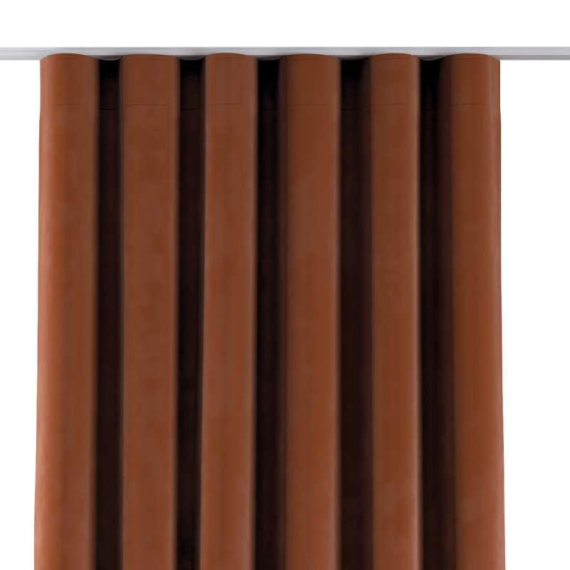 Wellenvorhang von der Kollektion Velvet, Stoff: 704-33