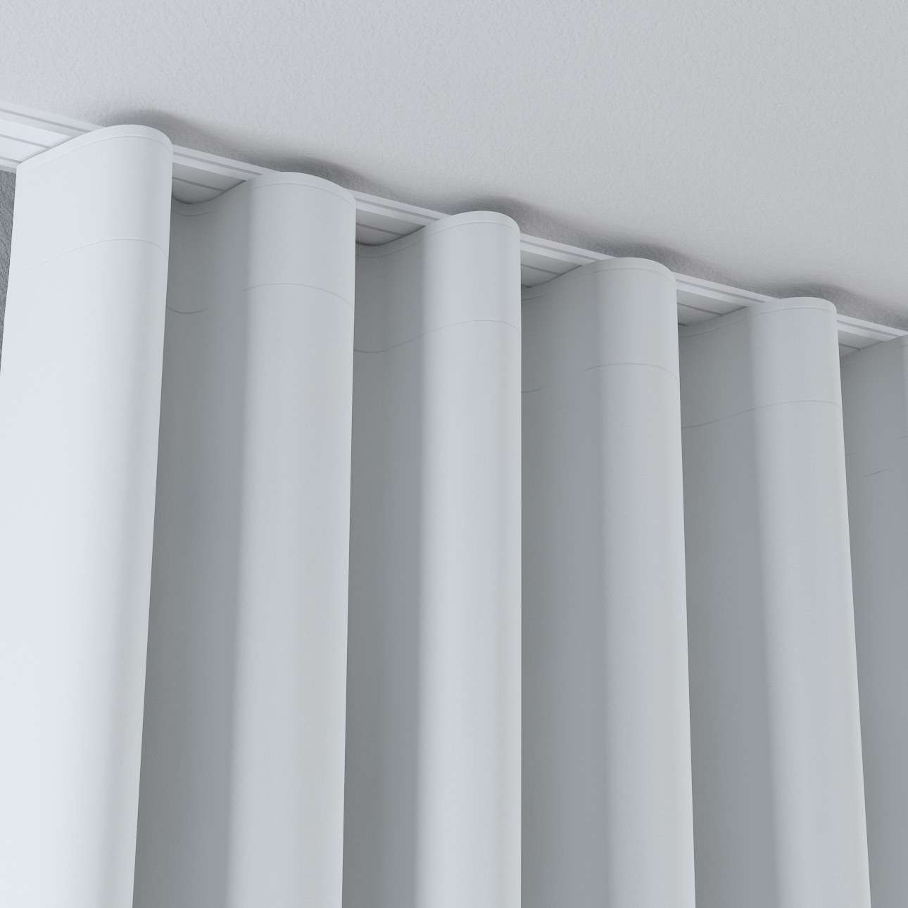 Zaves s riasením WAVE V kolekcii Blackout 280 cm, tkanina: 269-05
