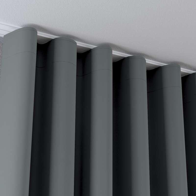 Zaves s riasením WAVE V kolekcii Blackout 280 cm, tkanina: 269-07