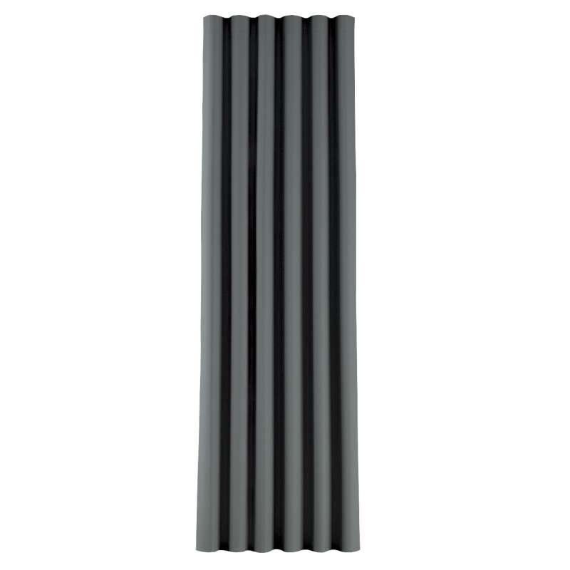 Zasłona na taśmie wave w kolekcji Blackout 280cm, tkanina: 269-07