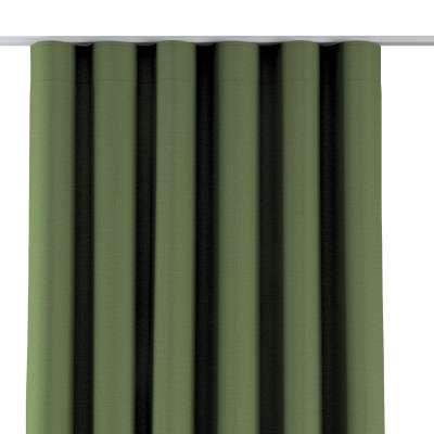 Zasłona na taśmie wave 269-15 zielony strukturalny Kolekcja Blackout 280cm