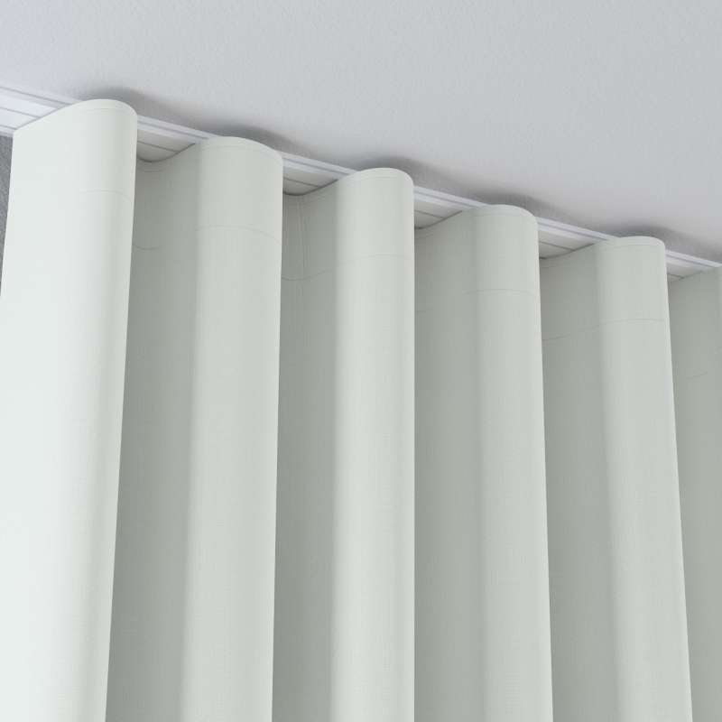 Zaves s riasením WAVE V kolekcii Blackout 280 cm, tkanina: 269-10