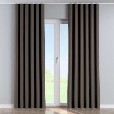 Wave Curtain 269-80 dark chocolate brown Collection Blackout