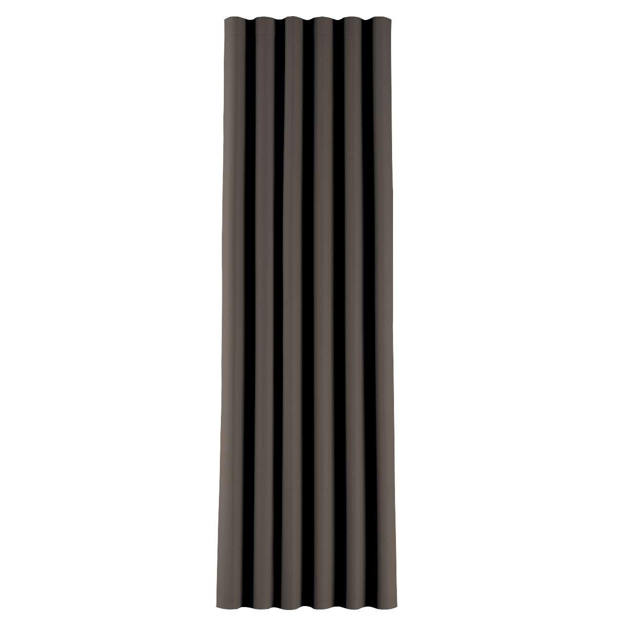 Zaves s riasením WAVE V kolekcii Blackout - zatemňujúca, tkanina: 269-80