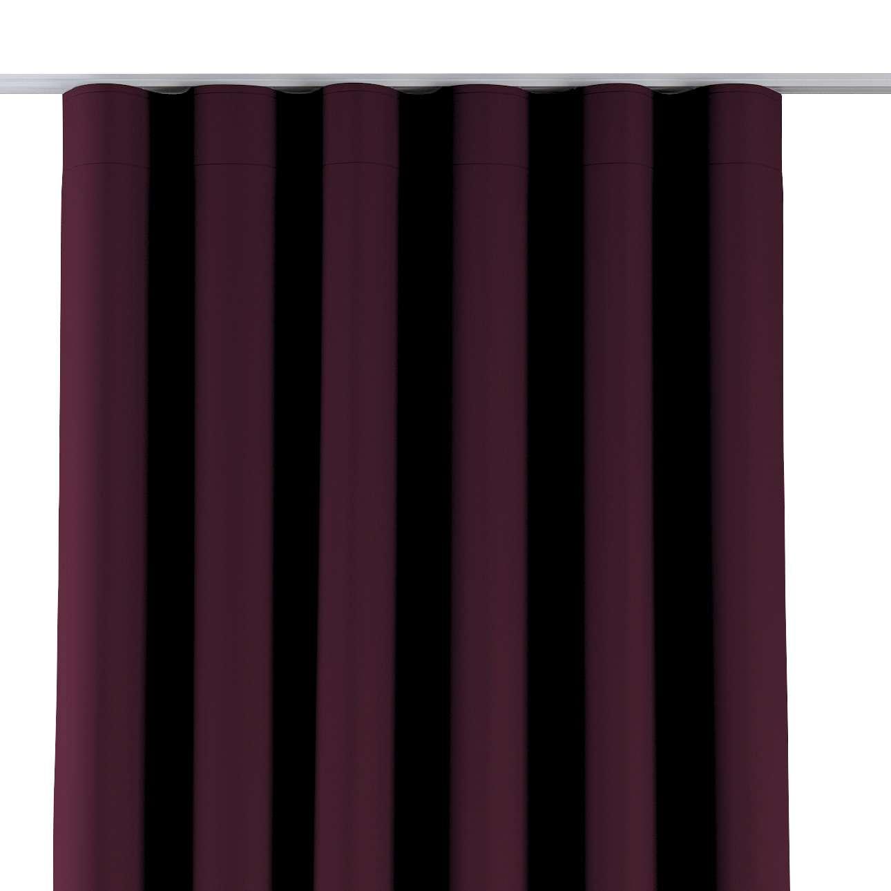 Zaves s riasením WAVE V kolekcii Blackout - zatemňujúca, tkanina: 269-53