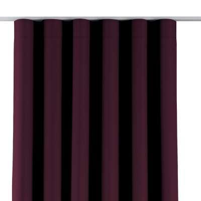 Zaves s riasením WAVE 269-53 purpurová Kolekcia Blackout - zatemňujúca
