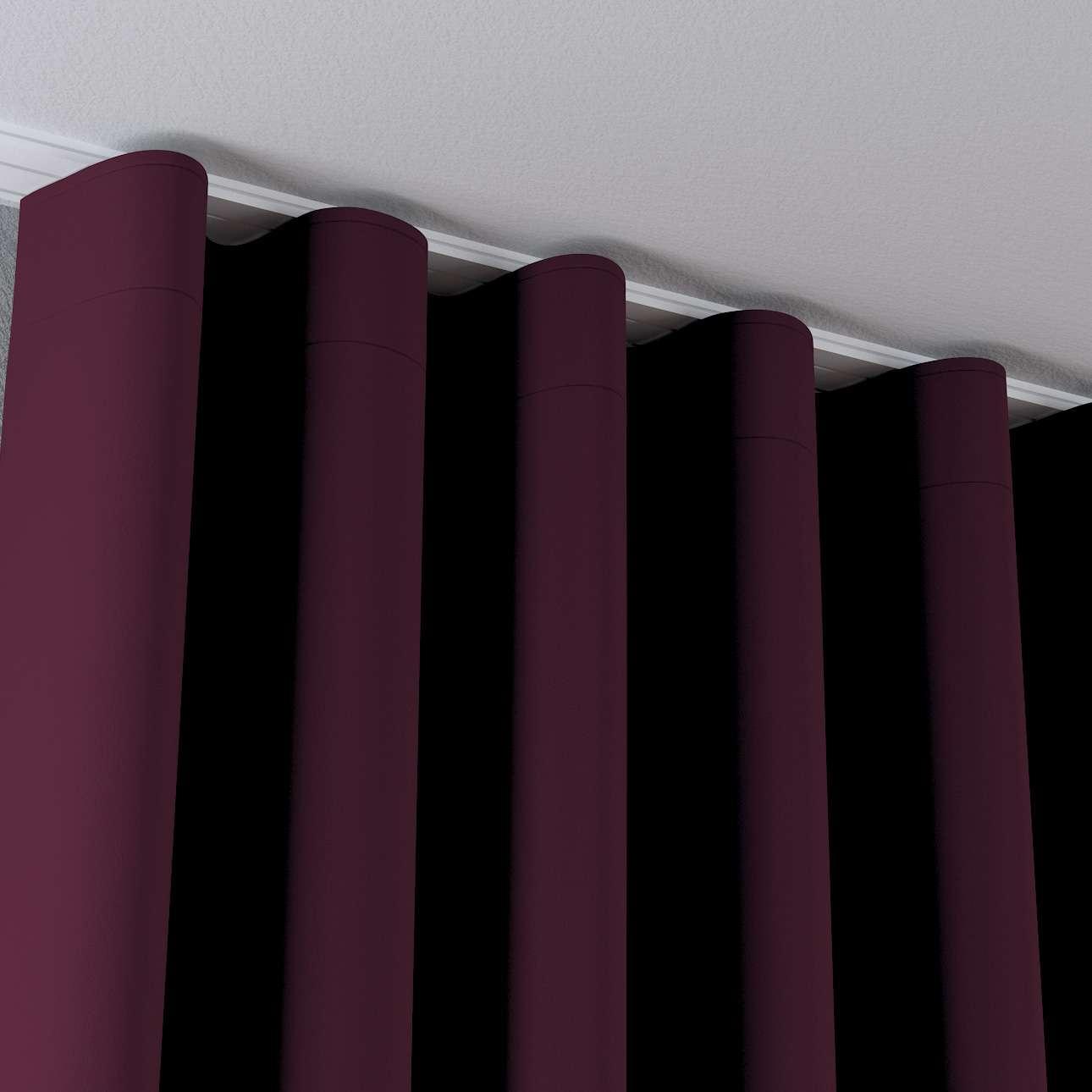 Wellenvorhang von der Kollektion Blackout (verdunkelnd), Stoff: 269-53