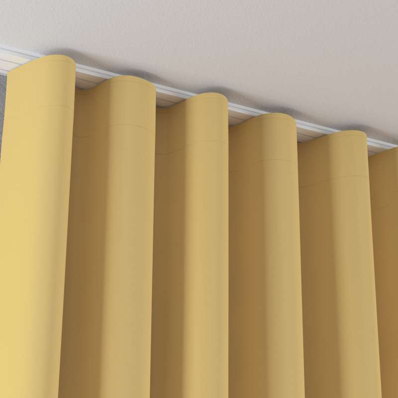 Zaves s riasením WAVE V kolekcii Blackout - zatemňujúca, tkanina: 269-12
