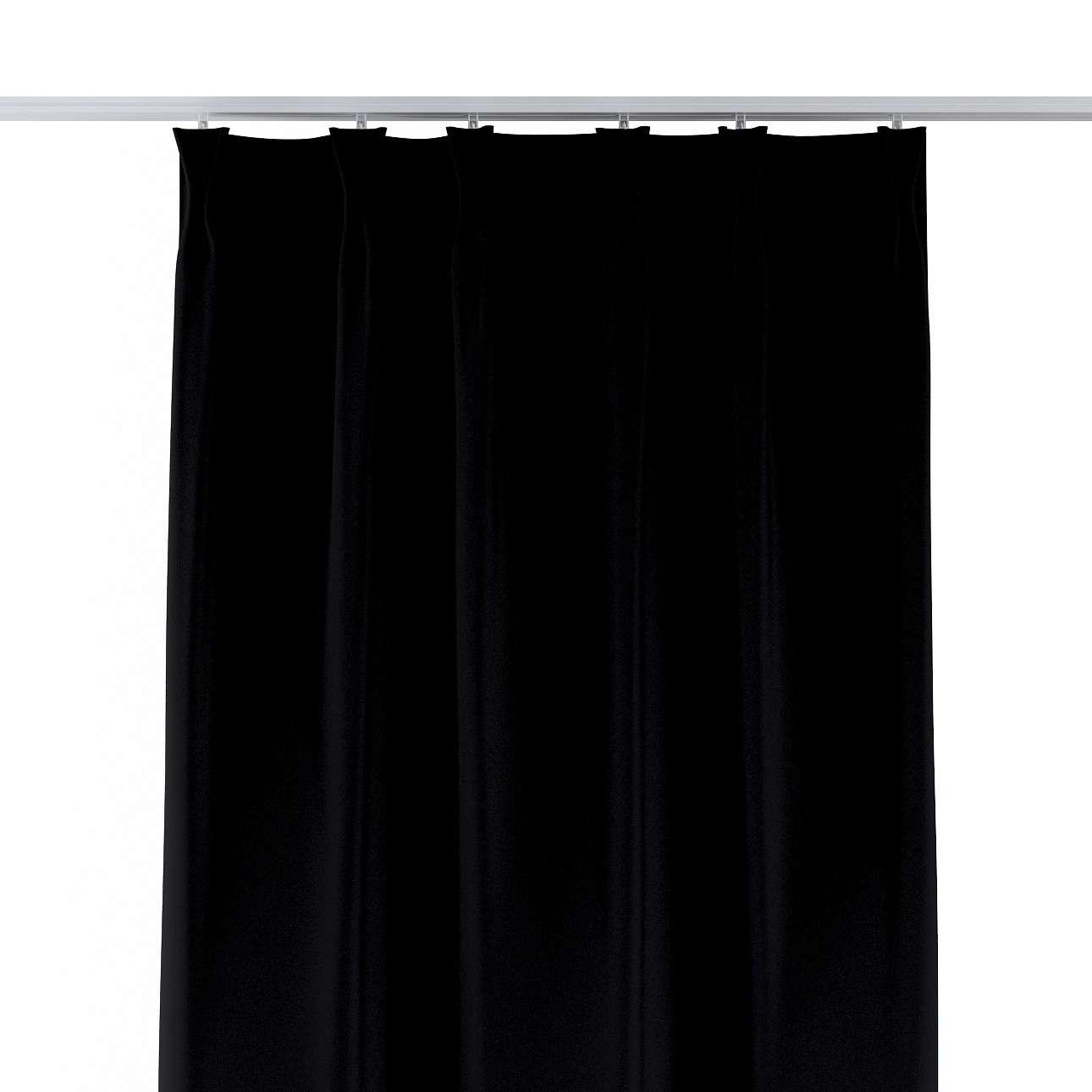 Gordijn met vlaamse plooi van de collectie Blackout (verduisterd), Stof: 269-99