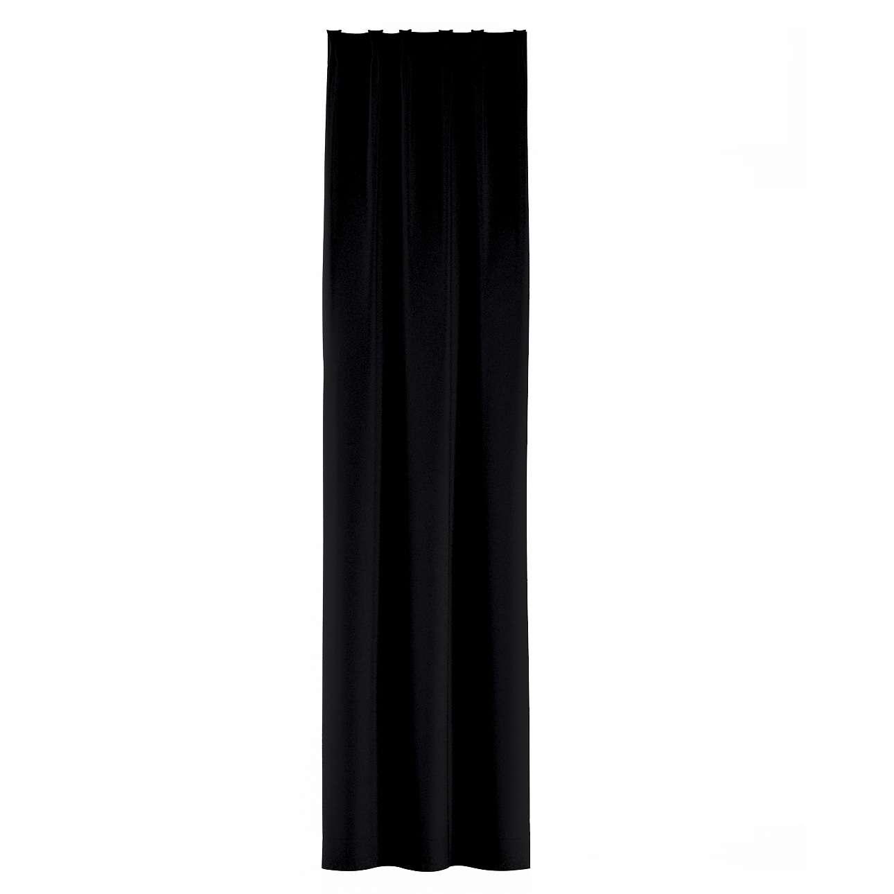 Gardin med fast veck i kollektionen Blackout (mörkläggande), Tyg: 269-99